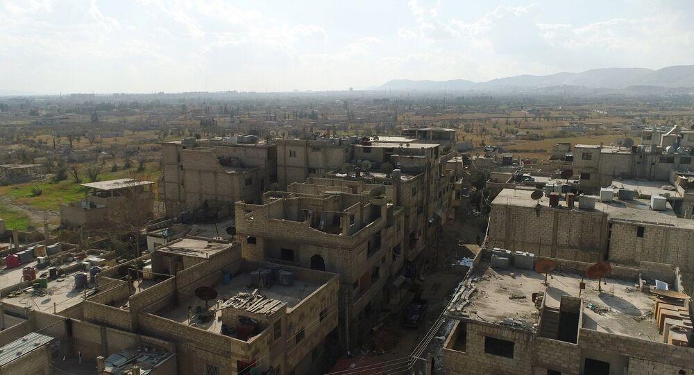 Couloir humanitaire dans la Ghouta orientale