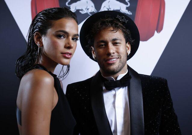 Neymar Jr. et Bruna Marquezine