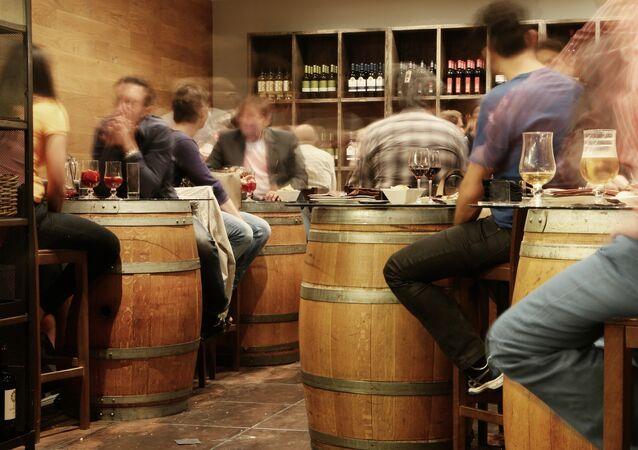 Dans un pub