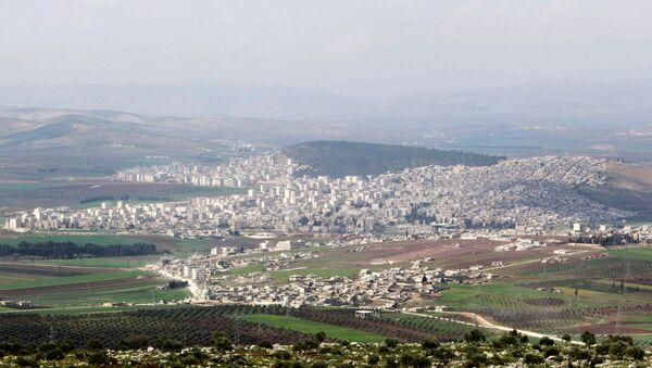 La ville syrienne d'Afrine - Sputnik France