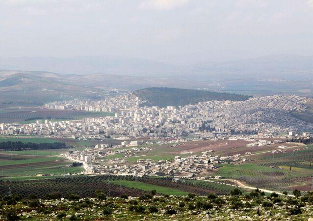 La ville syrienne d'Afrine