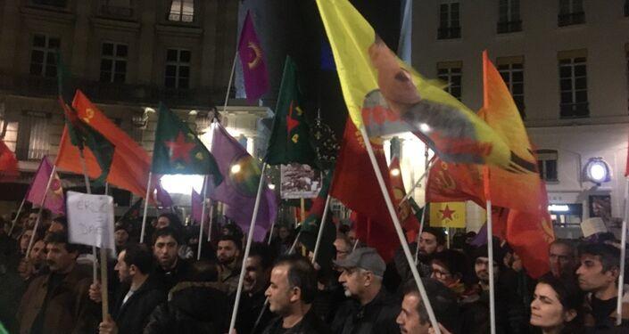 Une manifestation pro-kurde spontanée s'est déroulée à Paris
