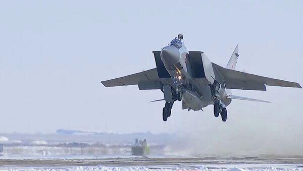 Tir d'essai réussi d'un missile hypersonique Kinjal - Sputnik France