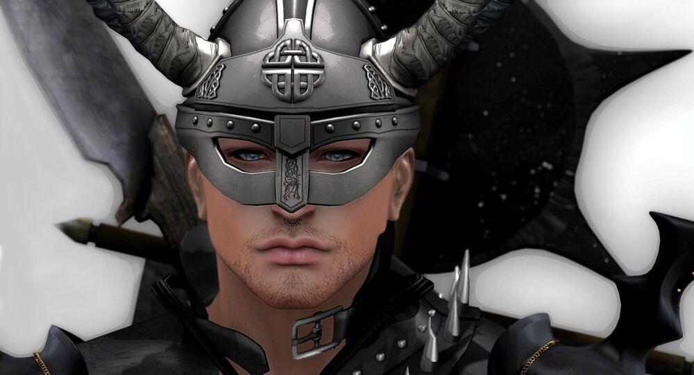 Viking. Image d'illustration