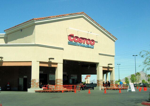 Magasin chaîne américaine de grande distribution Costco