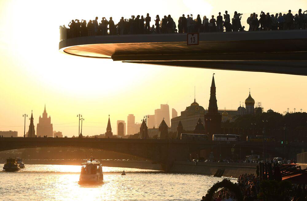 Moscou et Saint-Pétersbourg: les deux capitales russes