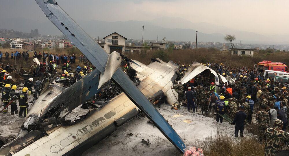 Un avion de ligne bangladais s'écrase lors de la phase d'atterrissage à Katmandou au Népal
