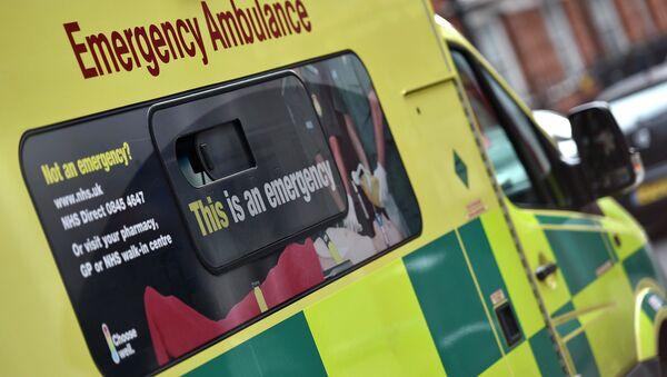 A National Health Service ambulance is seen in central London - Sputnik France
