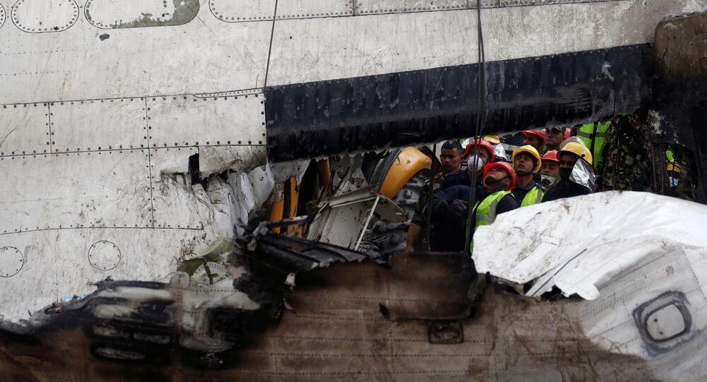 Crash à Katmandou