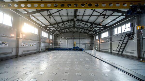 Cellules dans un complexe d'installations et l'élimination des déchets radioactifs par la centrale nucléaire de Tchernobyl - Sputnik France
