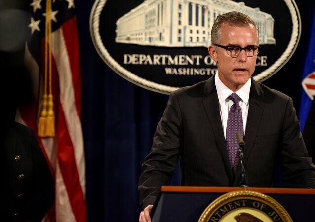 Andrew McCabe, directeur adjoint du FBI