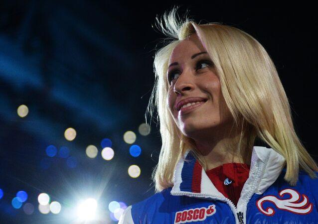 Russian competitor Mikhalina Lysova