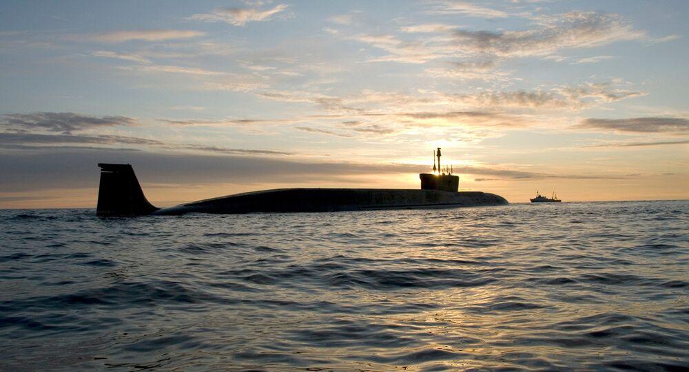 Le sous-marin de la classe Borei