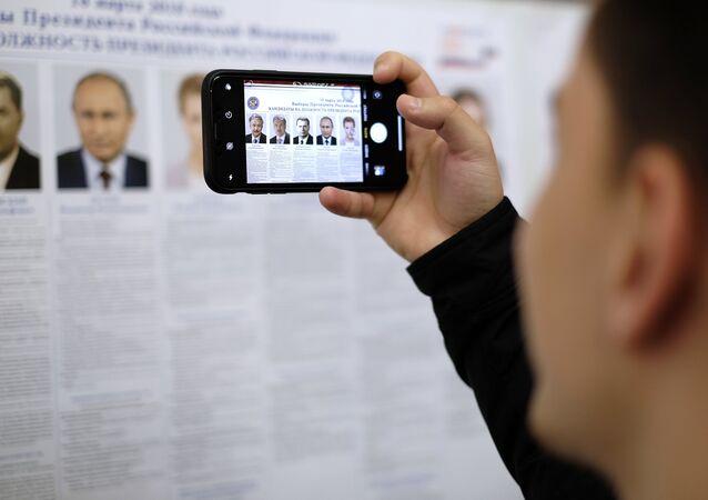 la présidentielle russe