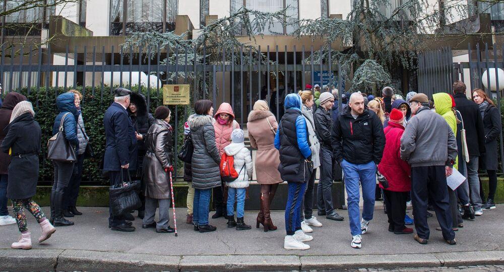 Ambassade russe à Paris