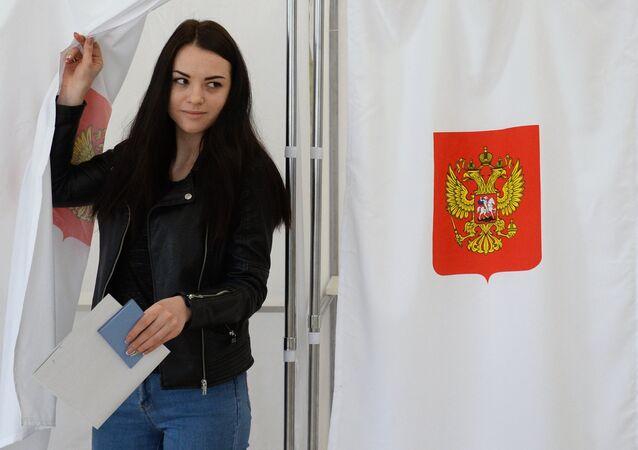 Election présidentielle en Russie