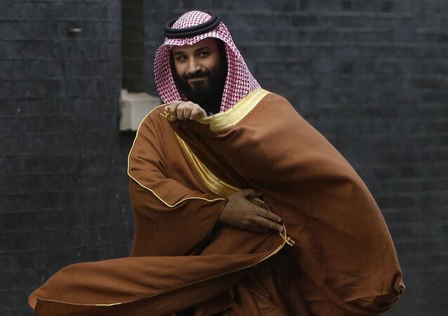 Saudischer Prinz Mohammed bin Salman in London