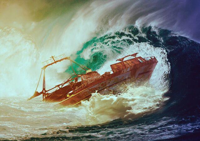 Une tempête (image d'illstration)