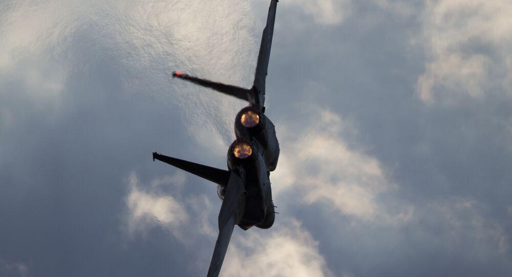 Un chasseur israélien F-15
