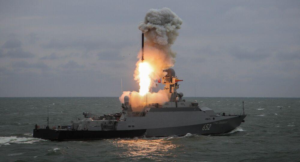 Des missiles de croisière russes Kalibr