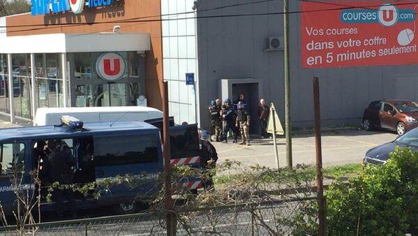 Prise d'otages à Trèbes - Sputnik France