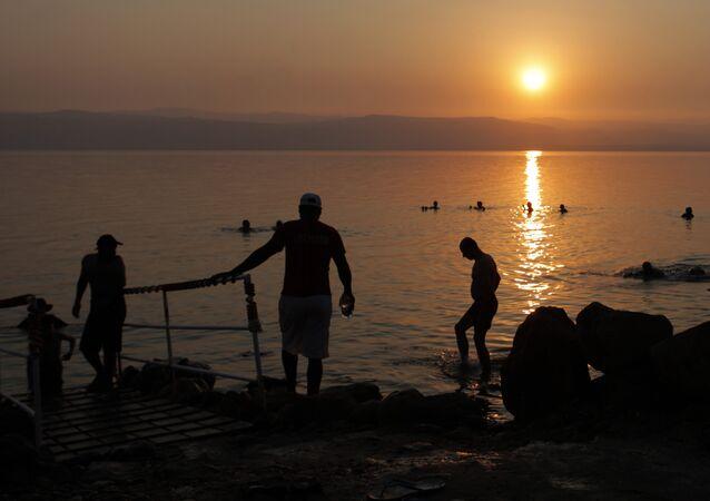 Mer Morte en Israël