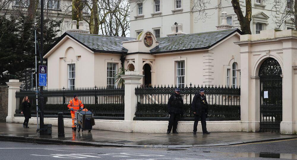 Ambassade russe à Londres