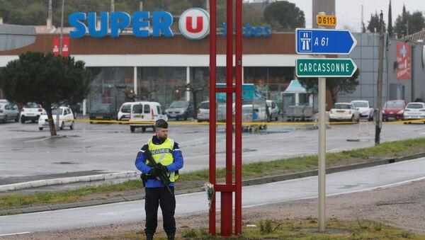 Pris d'otages dans un supermarché Super U à Trèbes, en France - Sputnik France