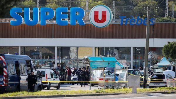 L'attentat terroriste de Trèbes - Sputnik France