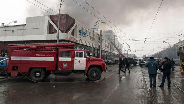 Terrible incendie dans un centre commercial en Sibérie - Sputnik France