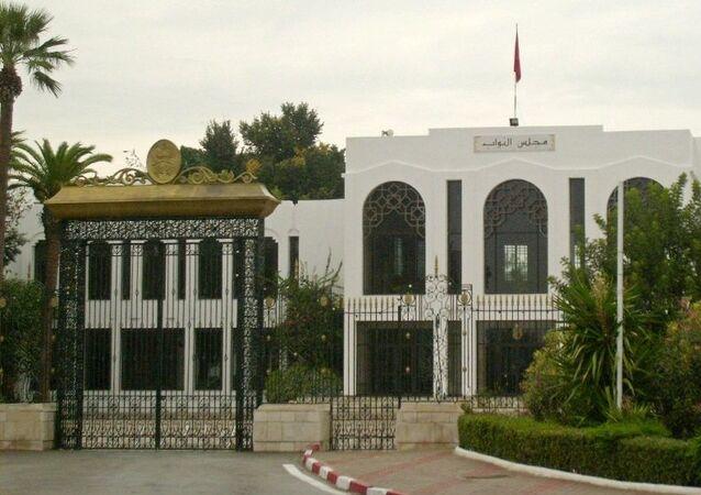 Siège de la Chambre des députés situé au Bardo près de Tunis (Tunisie)