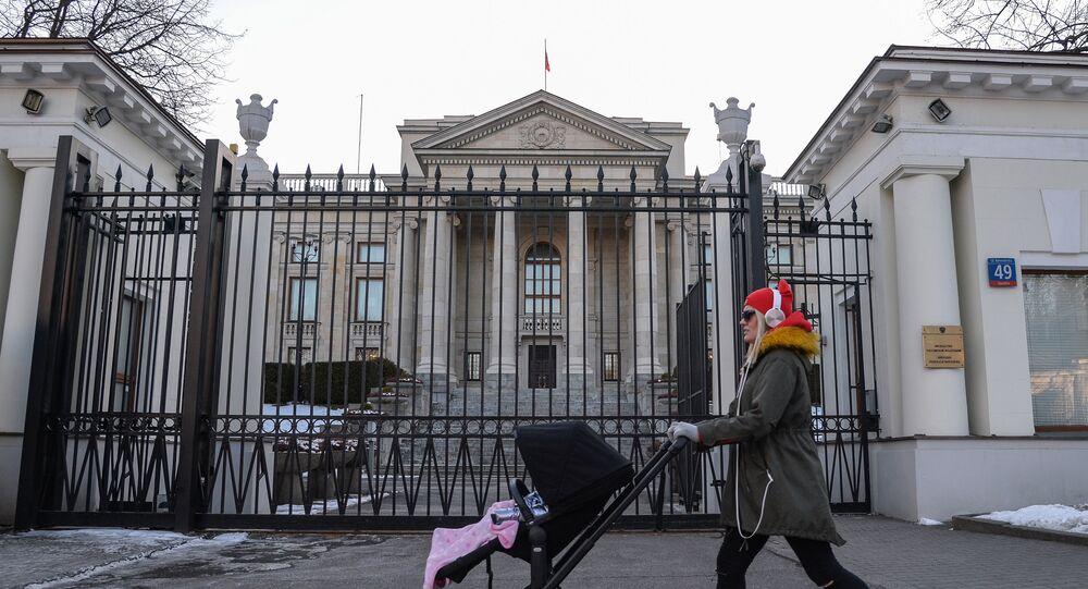 Ambassade de Russie à Varsovie