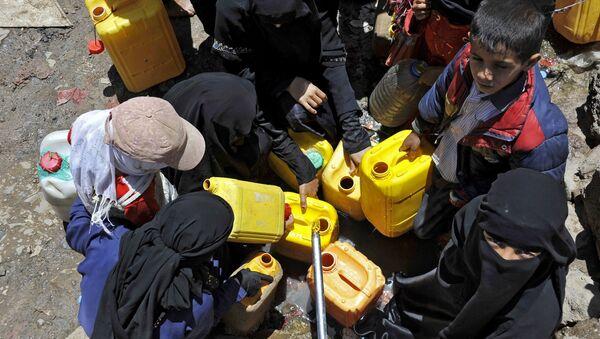 Pénurie d'eau au Yémen - Sputnik France