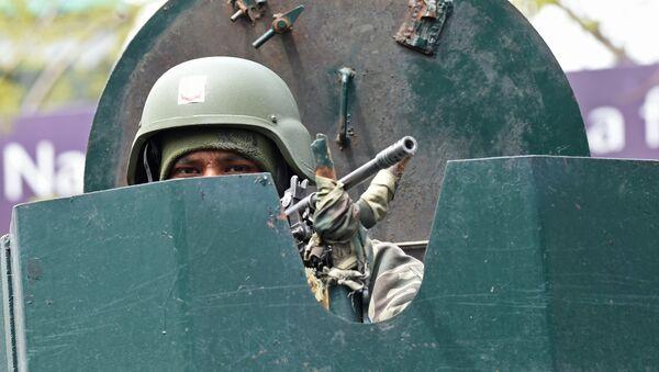 Un soldat de l'Indian Border Security Force - Sputnik France
