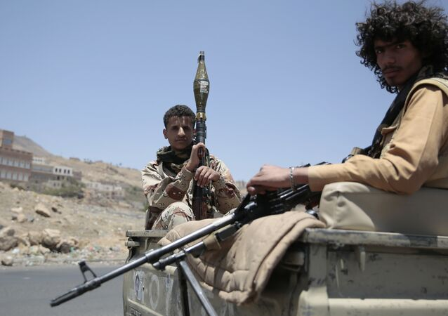 Les Houthis, photo d'archives