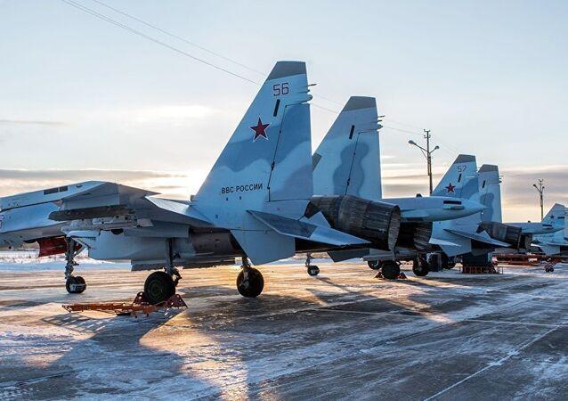 Chasseurs Su-35S