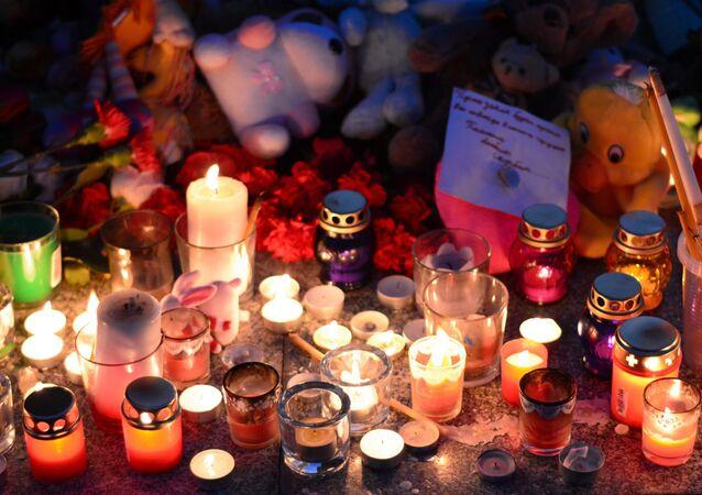 Deuil à la suite de la tragédie de Kemerovo