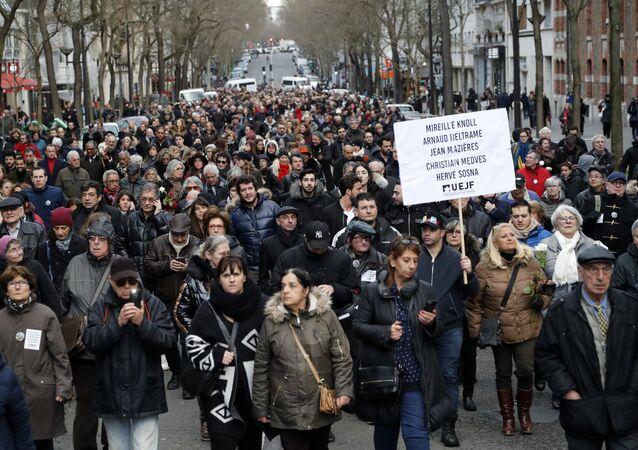 Marche blanche pour Mireille Knoll