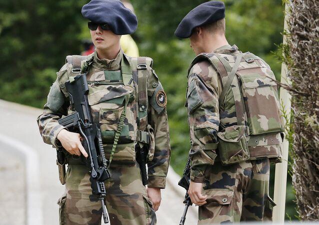 Des soldats de l'armée française (photo d'archives)