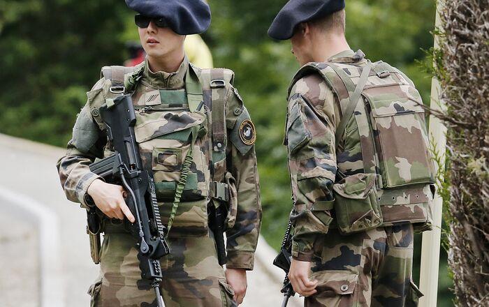 Soldats de l'armée française (archive photo)