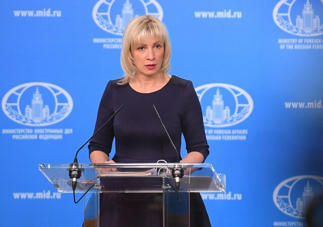 Maria Zakharova (photo d'archives)