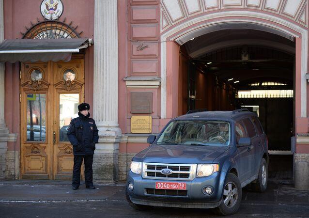 la fermeture du Consulat général américain à Saint-Pétersbourg