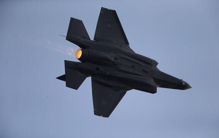 Un F-35 israélien