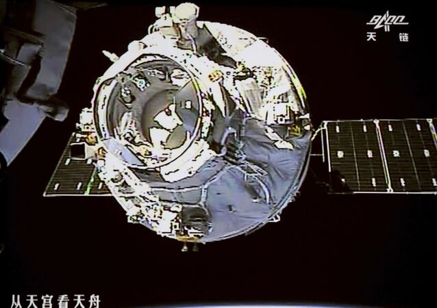 Station chinoise Tiangong-1 (photo d'archives)
