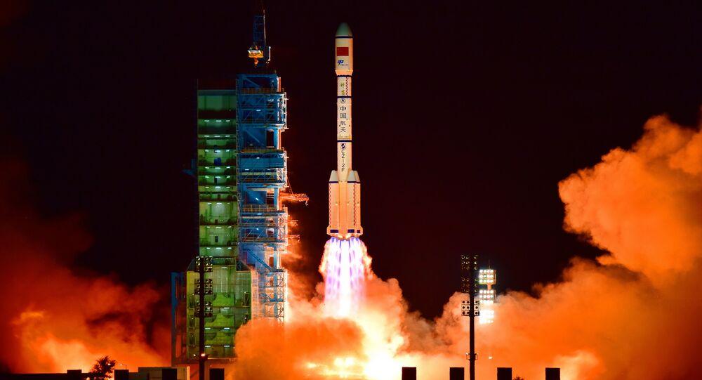 Un lanceur chinois au Xichang Satellite Launch Center