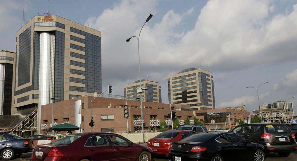 Nigerian National Petroleum Corporation headquarters in Abuja, Nigeria