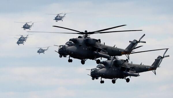 Des hélicoptères Mi-35 - Sputnik France