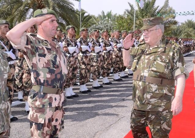 Ahmed Gaïd Salah, le chef de l'état-major de l'armée algérienne