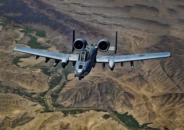 avion А10 de l'Otan