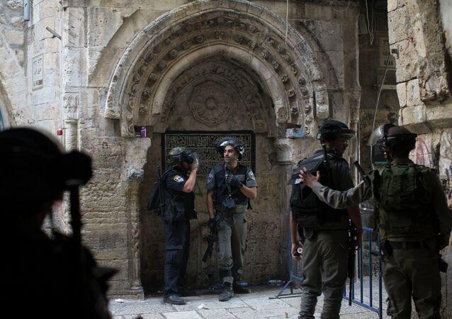 Police israélienne (image d'illustration)